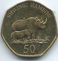 Tanzania - 50 Shilingi - 2012 - KM33 - Tansania