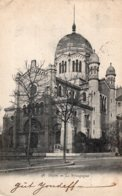 B67210 Cpa Dijon - La Synagogue - Dijon