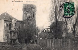 B67214 Cpa Saint Ouen - La Tour Mahu - Saint Ouen