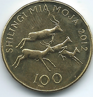 Tanzania - 100 Shilingi - 2012 - KM32 - Tanzania