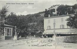 CPA 83 Var Bormes-les-Mimosas Café Du Progrès - Bormes-les-Mimosas