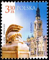 Poland 2020 Fi 5031 Mi 5181 Polish Cities - Leszno - 1944-.... República