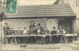CPA Le Greffage à Louchy-Montfand Atelier Aumaître 1909 - France