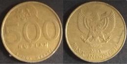 Indonesia - 500 Rupiah 2003  Used (ia017) - Indonesia