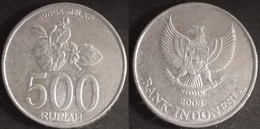 Indonesia - 500 Rupiah 2003 Used (ia018) - Indonesia