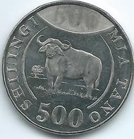 Tanzania - 500 Shilingi - 2014 - KM72 - Tanzanía