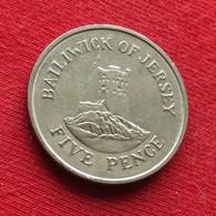 Jersey 5 Pence 1985 KM# 56.1 *V2 - Jersey