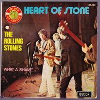 The ROLLING STONES - SP - 45T - Disque Vinyle - Heart Of Stone - Série Golden Hit Parade - 86127.1 - Vinyles