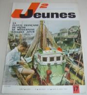 JOURNAL COEURS VAILLANTS - J2 JEUNES N° 17 - 1964 -  ENRICO MACIAS - Other Magazines
