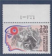 = Personnage De La Révolution N°2564 Neuf Avec Bord De Feuille T.D.6 -- 1 - Sieyès - Nuevos