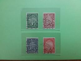 VATICANO - Anno Santo 1933 - Nn. 15/18 Timbrati + Spese Postali - Usati