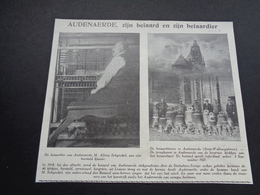 """Origineel Knipsel ( 3929 ) Uit Tijdschrift """" Ons Volk """"  1927  :  Beiaard  Audenaerde  Oudenaarde - Vecchi Documenti"""