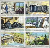 Liebigbilder Kplt. Serie Wasserkraft - Liebig