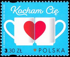 Poland 2020 Fi 5036 Mi 5186 I Lowe You - 1944-.... República