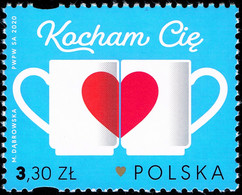 Poland 2020 Fi 5036 Mi 5186 I Lowe You - Nuevos