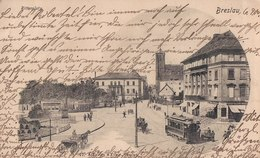 Breslau, Ritterplatz, 1900. (pl. Biskupa Nankiera, Wroclaw). - Poland