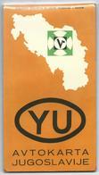 Maps > Road Map Yugoslavia - 1969,edition Vektor - Ljubljana - Slovenia - Cartes Routières