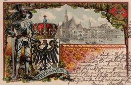 Preussen, Breslau, 1900. (sign. Roick). (Wroclaw). - Pologne