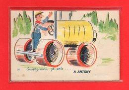 92-CPA ANTONY - CARTE A SYSTEME DE 10 VUE DE ANTONY - Antony