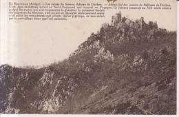 Ruines Du Chateau De Durban  1928 - Altri Comuni