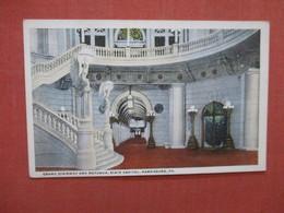 Grand Stairway & Rotunda   State Capitol  Pennsylvania > Harrisburg Ref 4044 - Harrisburg