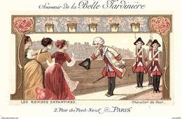 """Autres. Cpa Publicitaire """"souvenir De La Belle Jardinière"""", 2 Rue Du Pont Neuf  à Paris. - Altri"""