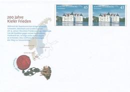 GERMANY Mi. Nr. USo 313 - 200 Jahre Kieler Frieden - Siehe Scan - Umschläge - Ungebraucht