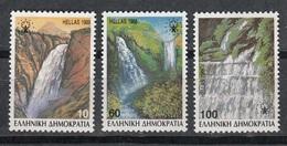GRECIA 1988 - CATARATAS - YVERT Nº 1675/77**(A) - Nuevos