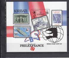 KIRIBATI BLOC 10 REVOLUTION FRANCAISE ET PHILEXFRANCE LUXE NEUF SANS CHARNIERE - French Revolution
