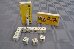 RENAULT Letterspel Auto's Met I.Q. 3x Spel-jeu-spiel-game (old) - Brain Teasers, Brain Games