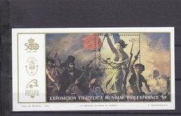 ARGENTINE BLOC 40 REVOLUTION FRANCAISE ET PHILEXFRANCE LUXE NEUF SANS CHARNIERE - French Revolution