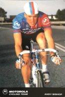 Postcard Andy Bishop - Motorola Cycling Team - 1991 - Ciclismo