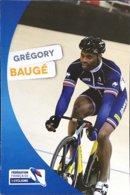Postcard Grégory Baugé - Federation Francaise De Cyclisme - 2012/2013? - Cycling