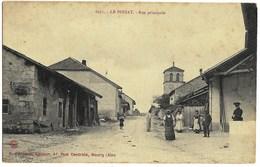 A3 Ain 01 LE POIZAT Rue Principale N'a Pas Circulé - Autres Communes