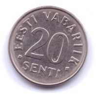 EESTI 2006: 20 Senti, KM 23a - Estonia