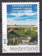 Nederland - Groothertogin Charlottebrug - Luxembourg/Luxemburg 2019 - Brug/Brücke/bridge/pont - MNH - Zegel 13/1 - Bridges