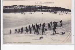 MONT-GENEVRE : Ecole De Ski Au Mont-genevre - Tres Bon Etat - France