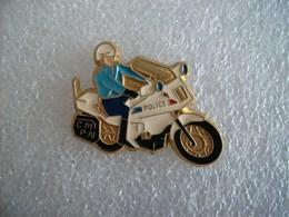 Pin's Motard De La Police - Police