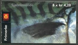 Norway Mi# 1355-6 Markenheftchen Postfrisch/MNH - Fauna Fish - Markenheftchen