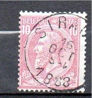 Belgie - Belgique - Leopold II - Capon - Sirault - 1884-1891 Léopold II
