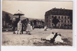 GERARDMER : Carte Photo De La Fête Militaire De Sidi-Brahim En 1935 - Très Bon état - Gerardmer