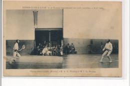 LYON - Tennis-Club De Lyon - 2ème Tournoi Intl Sur Cours Couvertes Avril 1906 : Wilding Vs Ritchie - Très Bon état - Lyon