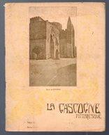 Cahier D'écolier: Avec Couverture Illustrée : La Gascogne Pittoresque : église De Simorre  (M.0052) - Protège-cahiers