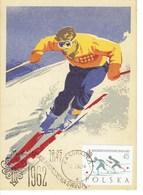 CARTE MAXIMUM  CHAMPIONNAT DU MONDE SKI NORDIQUE 1962 - Cartes Maximum