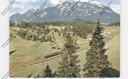 EISENBAHN - DB, Deutsche Bundesbahn Zwischen Garmisch Und Mittenwald - Trenes