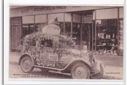PARAY-le-MONIAL : Maison Vacher Freres, Sur Des Deux Ponts (porcelaine) (automobile) - Tres Bon Etat - Autres Communes