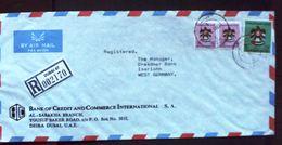 "DUBAI 1983,U.A.E.,Vereinigte Arab.Emirate,REGISTERED, R- Brief N.BRD.(474"") - Dubai"