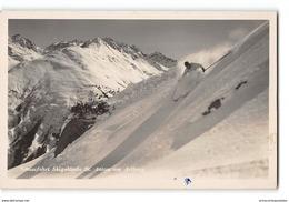 CPA Carte Phot Le Ski Schussfahrt St Anton Am Arlberg - Sport Invernali