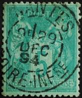 -Sage N°75  Type Ll.(CAD) O.NANTES 29 DEC 1894. - 1876-1898 Sage (Type II)