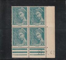 FRANCE  Coins Datés Type Mercure  N° 414B** - 1930-1939
